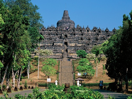 The Borobudur Temple