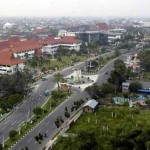 Pekanbaru, a Busy Trading Port on the Bank of Siak River
