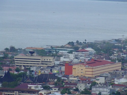 View of Padang