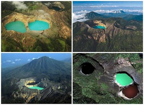 Lake Kelimutu, Nusa Tenggara Timur Indonesia