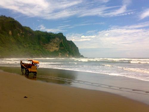 Parang Tritis Beach