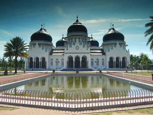 The Baiturrahman Grand Mosque