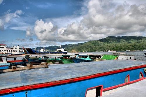 The Bitung Port