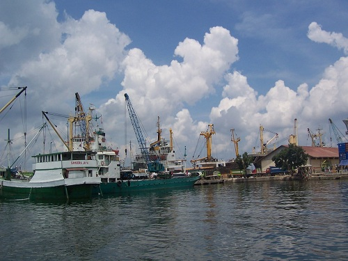 The Kendari Old Harbour