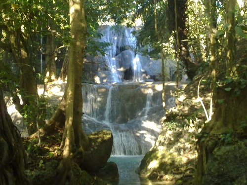 The Oenesu Waterfall
