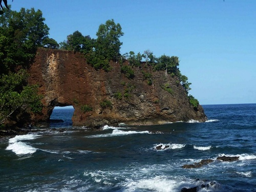 The Pintu Kota Beach