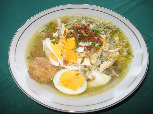 The Soto Banjar, the Traditional Food of Banjarmasin
