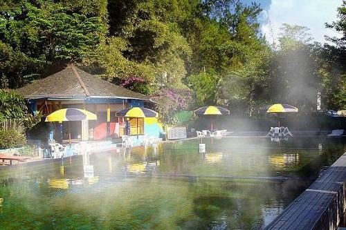 Ciater hot water swim in Subang