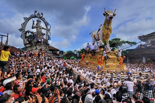 Ngaben Ceremony (Bali Island)