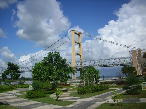 Bridge in Tenggarong