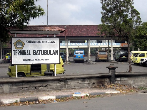 Baturbulan bus station