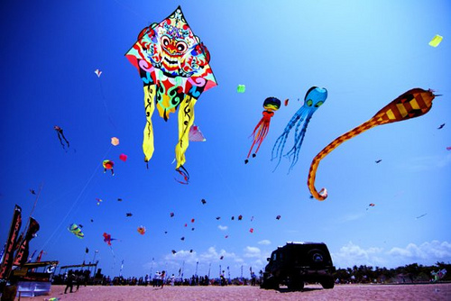 Kite Competition - Sanur Village Festival