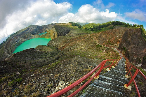 Multicolor Lake Kelimutu