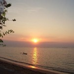 Feel the Beautiful Sunrise in Sanur Beach