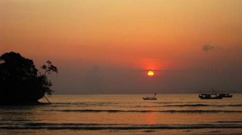Sunset At Pangandaran