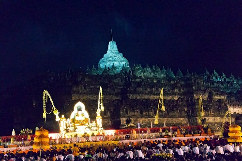 Vesak At Borobudur