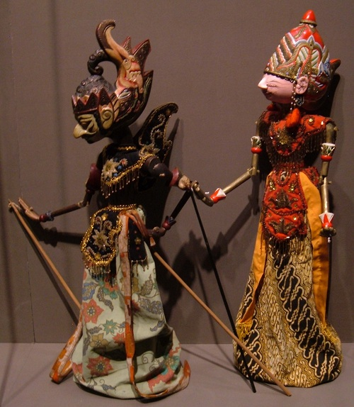 Wayang golek (Puppet Show)