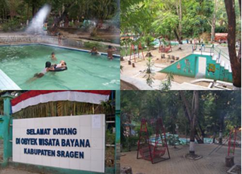 Bayanan hot water swim in Sragen