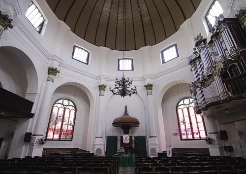 Inside Bledug Curch