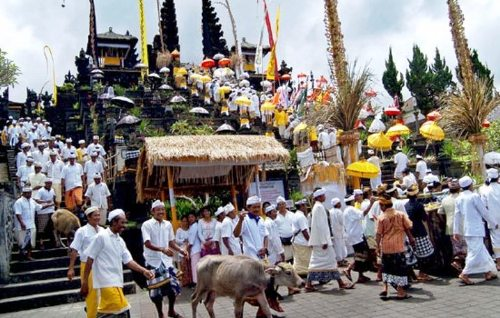 Nyepi (Day Of Silence) At Pura Besakih