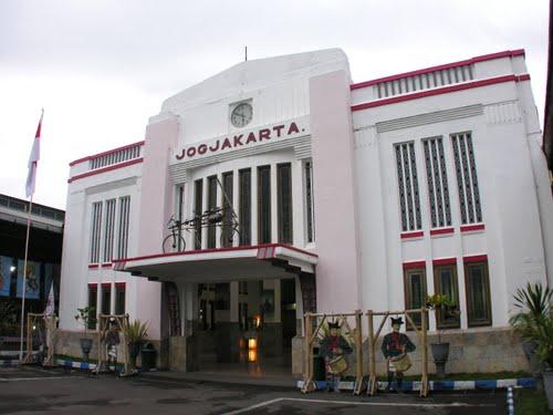 Tugu Rail Station Yogyakarta